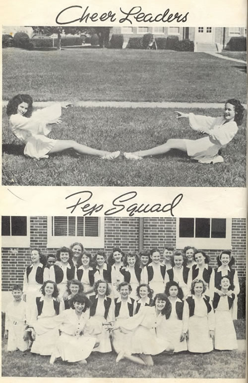 1947 Cheerleaders