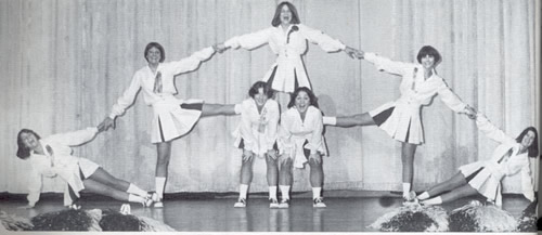 1977 Cheerleaders