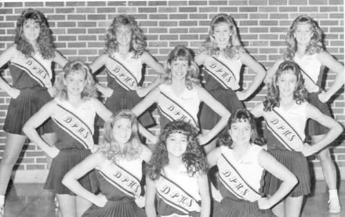 1987 Cheerleaders