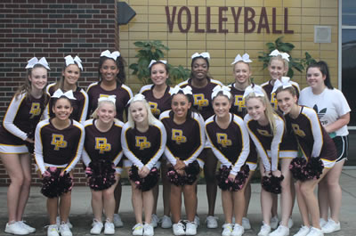 Cheer Induction 2016-17