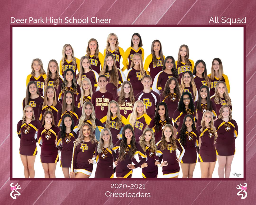 2015-2016 Cheerleaders
